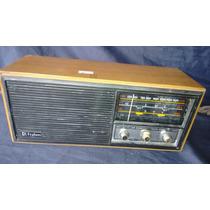 Radio Frahn Rc 300 Bivolt E Pilha Antigo De Madeira