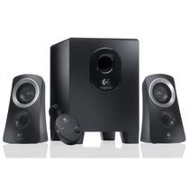 Caixa De Som Logitech Z313 25 Watts Com 2 Alto-falantes Top