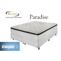 Juego Colchon Y Sommier Meyer 160x200c/pillowtop