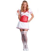 Disfraz Mujer Enfermera Talla Chica Envio Gratis