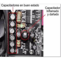 Capacitador De Tarjeta Madre + Instalación (reparación)