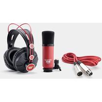 Focusrite Scarlett Studio Kit Grabación Usb Placa Auricular