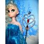 Oferta Muñeca Elsa Frozen Con Varita
