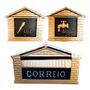 Kit Colonial = Caixa De Correio + Visor Luz + Visor Agua