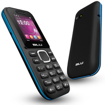 Telefono Celular Blu Jenny Ii Doble Sim Teclado Flash Camara