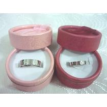 Anillo Aro Acero Y Baño Oro 18k Compromiso Matrimonio Ambos