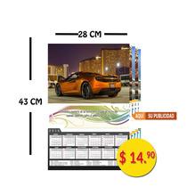 Calendarios De Pared 28 X 43 Cm $14.90