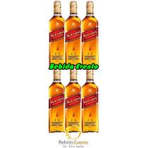 Whisky Red Label Jw 1lt Cx C/6 Original