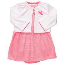 Vendo Vestidos Casuales Carters Original Niña Talla 12 Meses