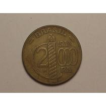 Serrilhada) 2.000 Rs. - 1938 / Escassa / Caxias