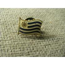 Pin Para Solapa Bandera De Uruguay