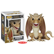 Game Of Thrones - Dragão Viserion Pop Vinil Funko 15cms