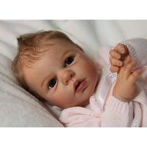 Boneca Bebe Reborn Detalhes Perfeito Maria Joaquina