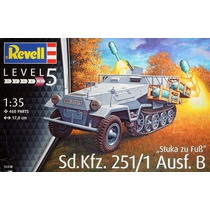 Blindado Sd.kfz.251/1 - Stuka Zu Fuss Ausf.b - Revell Alema