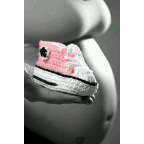Botitas/ Escarpines Bebe Recien Nacido! Crochet! En Caja!!