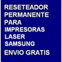 Desbloqueador Reset Samsung Scx3200 Scx-3200 Envio Gratis