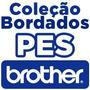 Coleção Pes 600 Mil Bordados Disney E Matrizes Brother Pe770