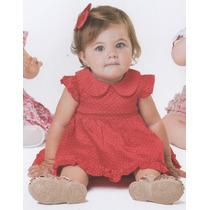 Trick Nick- Vestido Infantil Com Body Em Tricoline 118376