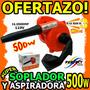 Wow Soplador 500w Aspiradora 16000rpm La Mejor Sopladora Wow