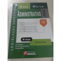 Vademecum Administrativo 2014 Alexandre Mazza 8ª Edição
