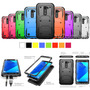 For Lg G Stylo 2 / Ls775 Hybrid Rugged Rubber Slim Case