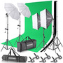 Kit Luces Estudio De Fotografia Neewer® 2.6m X 3 M/8.5 Ft