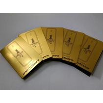 5 Amostras Perfume One Million Edt Paco Rabbane 1,5ml Cada