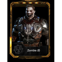 Gears Of War 4 Jd Zombie Promo Totinos + Bounty Jd