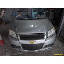 Chocados Chevrolet Aveo Lt