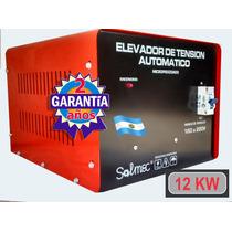 Elevador Automatico De Tension 12 Kw Industria Argentina