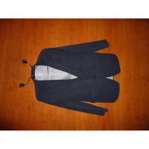 Muy Buen Blazer Tipo Pana/ Gamuza Mate Navy Ralph Lauren