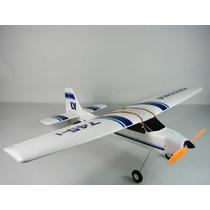 Aviao Cessna 747 4 Canais Radio Controle Treinador Completo