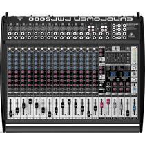 Mesa Behringer Amplificada Pmp5000 Na Loja Cheiro De Música