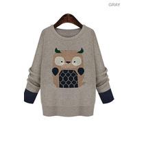 Suku 70306 Sueter Decorado Buho Moda Japón $699