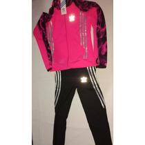 Conjuntos Adidas Deportivos Dama Lycra Importados Originales