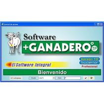 Software Ganaderia Rancheria Engorda Reproduccion Ganado