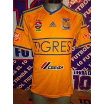 Tigres Jersey De Futbol Soccer 30 Parche Campeon