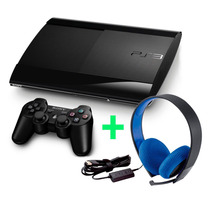 Playstation 3 500gb + Auriculares + Gtia Ps3
