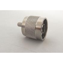 Conector N Macho Cable Coaxial Rg-58 Senal Celular Amplifica