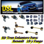 Kit Tren Delantero R18 + 4 Parrillas De Suspension