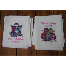 20 Bolsitas Monster High Personaliz Souvenir Cumple Tematico