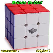 Cubo Magico Profissional Cyclone Boys 3x3x3 + Brinde Grátis