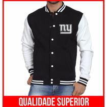 Jaqueta College Masculina New York Giants Jaquetas Colegial