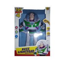 Buzz Lightyear Toy Story 25 Cm Camina Habla Juegos De Luces