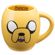 Taza Jake Adventure Time De Ceramica Hora De Aventura Cafe