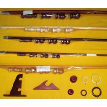 Barral De Madera En 34mm X 2,80 Cedro Roble Nogal