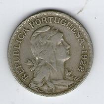 Argentvs * Portugal Moneda De 1 Escudo 1928