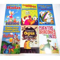 Paquete Cuentos Y Fabulas Para Pequeñines 6 Libros