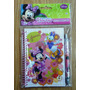 Minnie Mouse Princesas Set Libreta Diario Secreto Cotillon