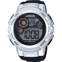 Reloj Lorus Sumerg 100 Mts Cronómetro Alarma Luz Calendar
